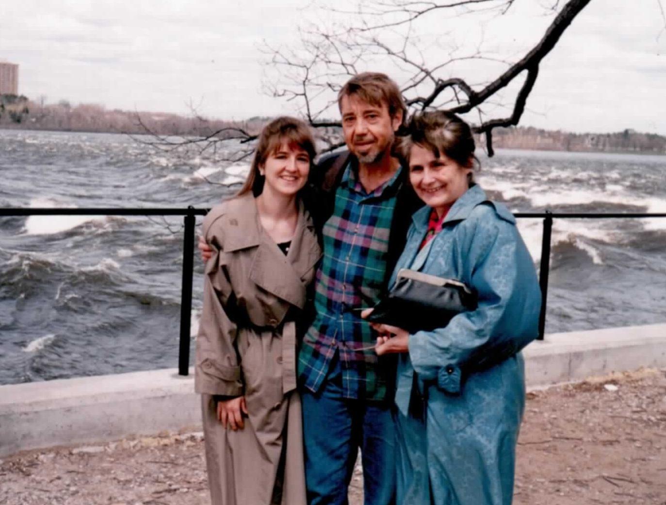 Niki Rebin, Norm Rebin, and Delva Rebin
